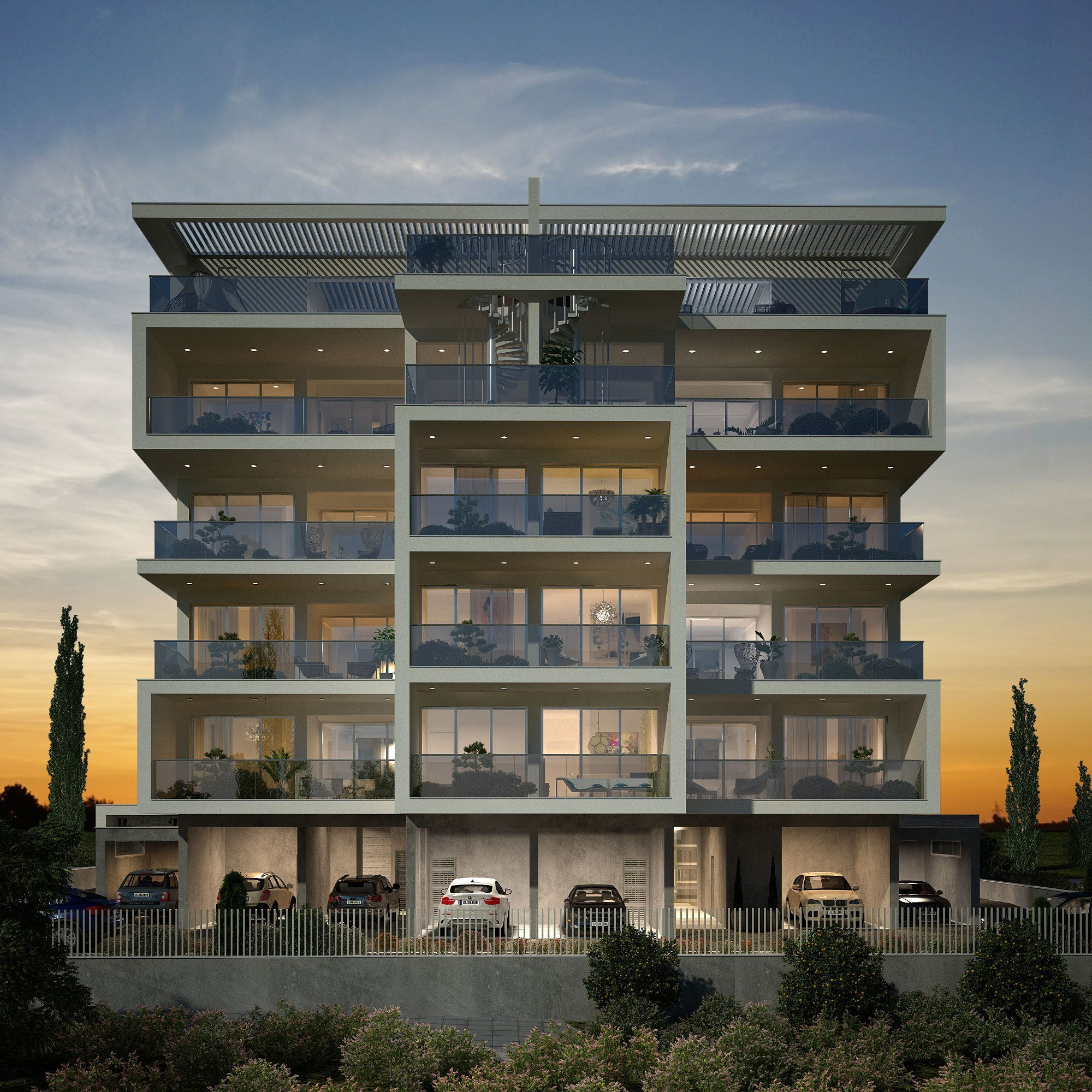 •   Year: 2018     •   Location: Limassol, Cyprus     •  Category: Apartments    •  Status: Under Study