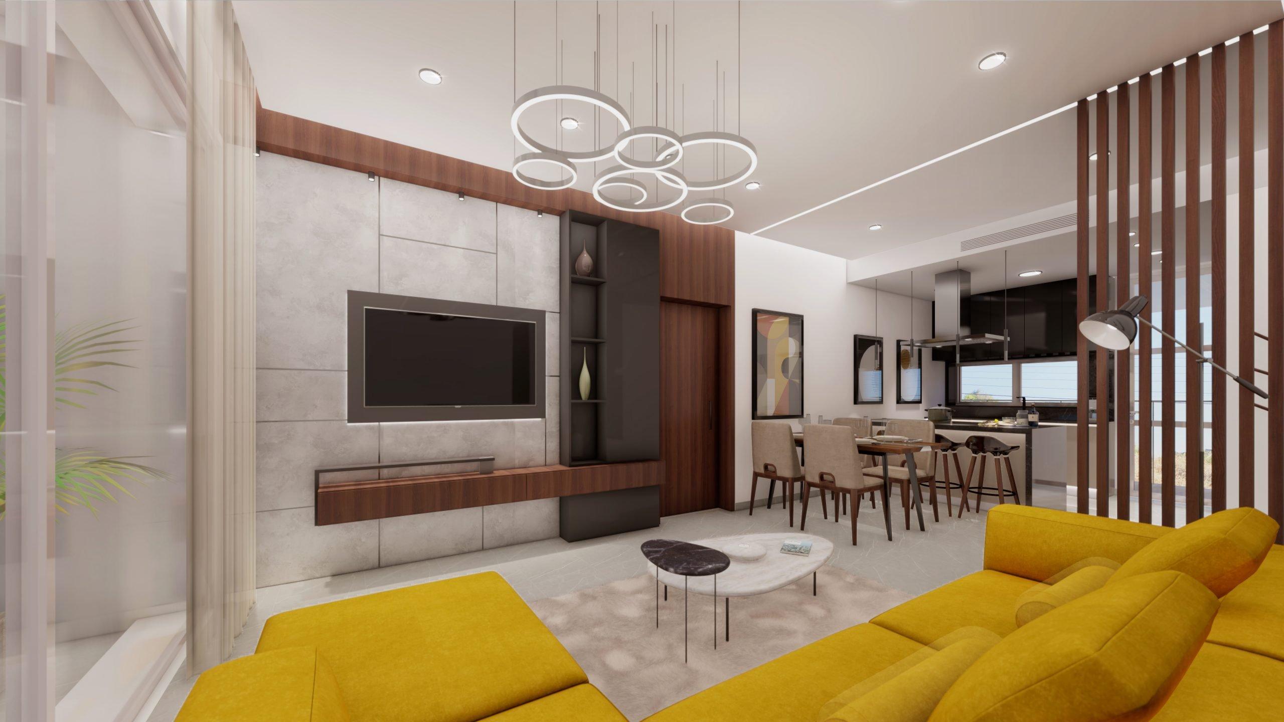 Living Room & Kitchen_3 - Living room & Kitchen