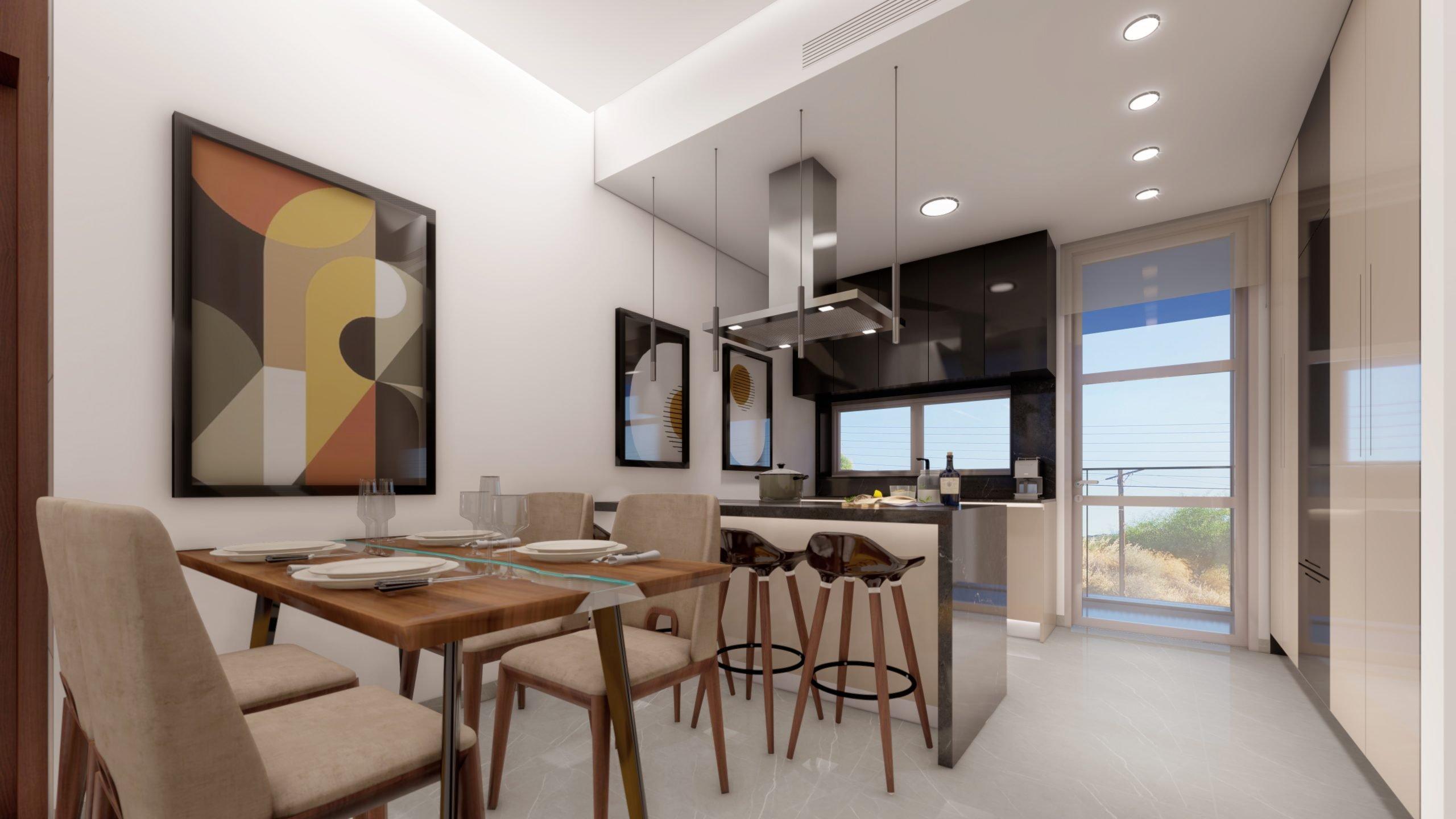 Living Room & Kitchen_4 - Living room & Kitchen